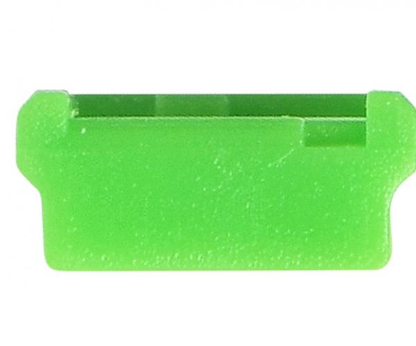 Mini USB-B Port Lock_GN_Front
